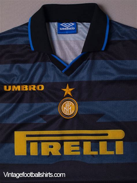 1997-98 Inter Milan Cup Shirt L for sale